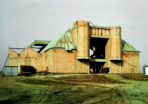 Świątynia w budowie